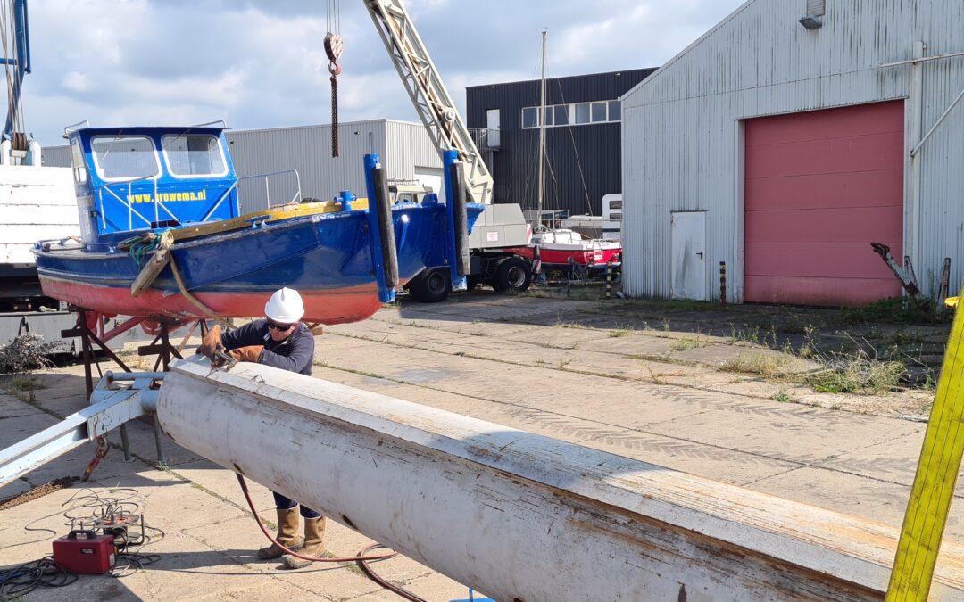 Browema assisteert bij inspectie Haringvlietdam